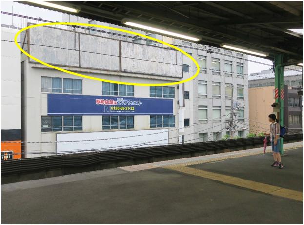 両国駅ホーム前 白井ビル