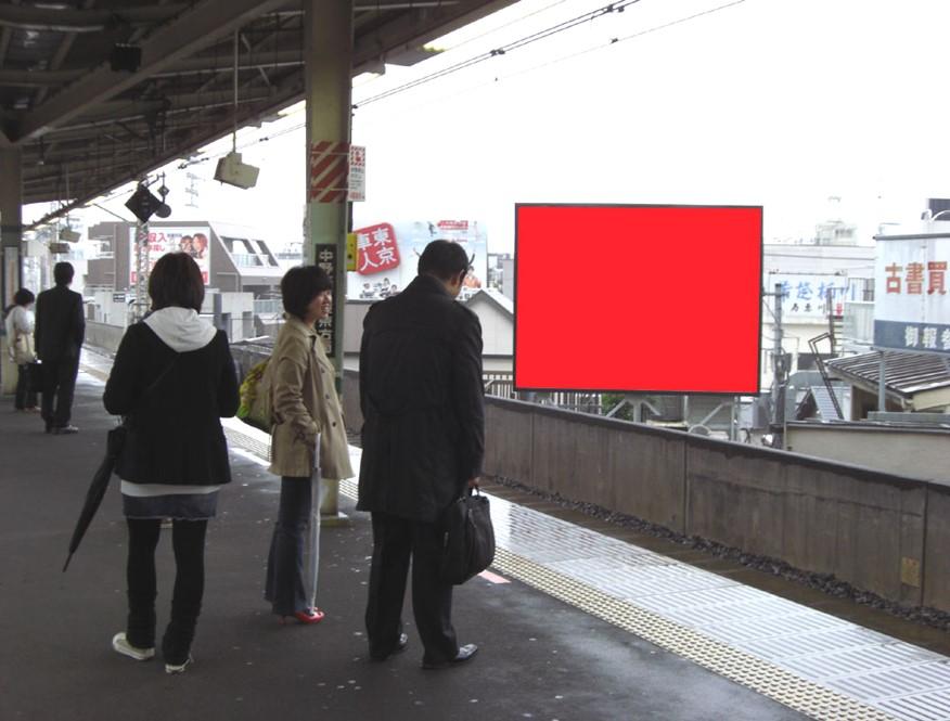 高円寺駅ホーム前 黒沢邸